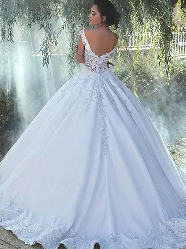White Ball Gown Dresses